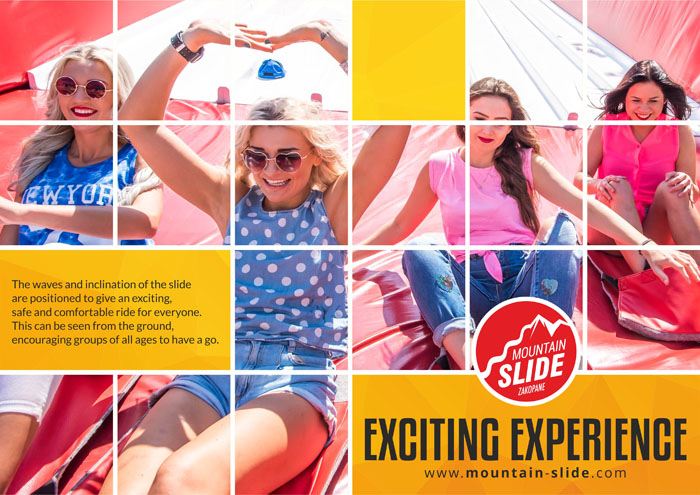 exciting eperience on giant slide