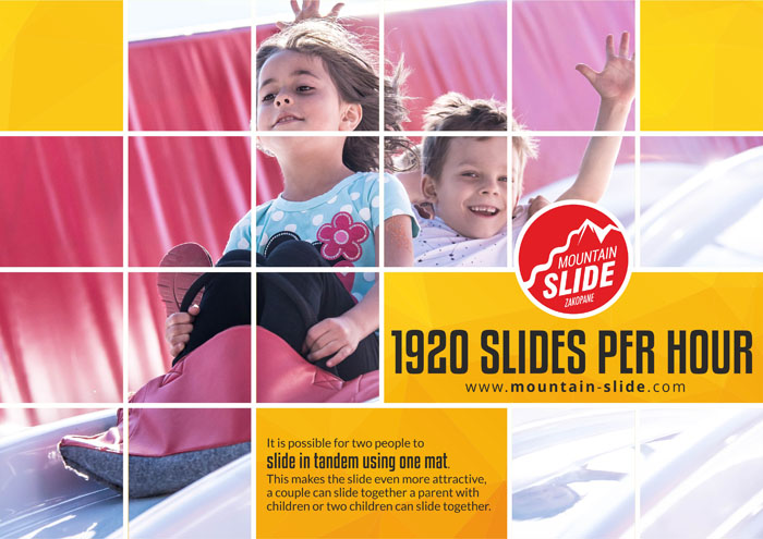 1920 slides per hour on giant slide